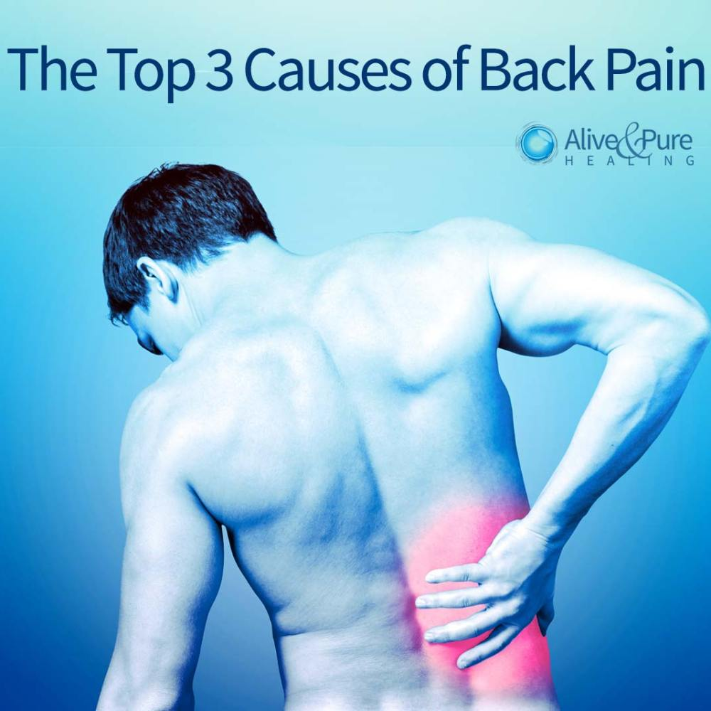 The Top 3 Causes of Back Pain