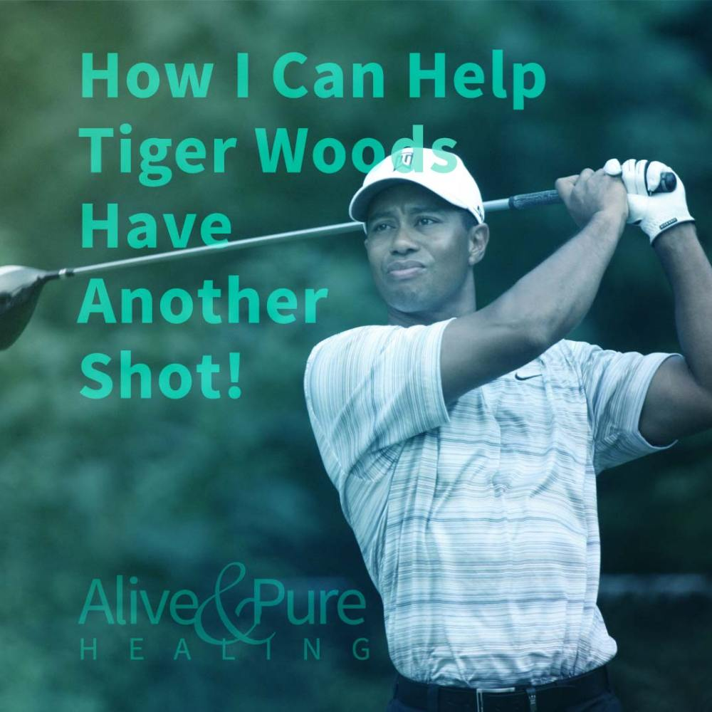 How I Can Help Tiger Woods Have Another Shot!