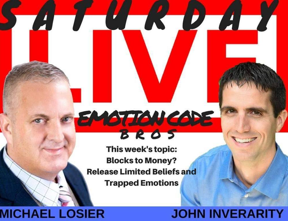 Episode #1 The Emotion Code Process Explained AND Live Demo with Michael Losier and John Inverarity