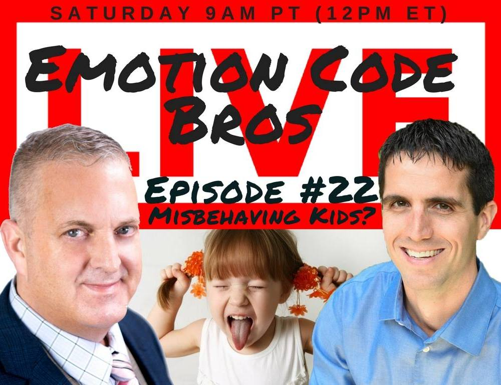 Episode #22 Misbehaving or Troubled Child? Can the Emotion Code Help? Michael Losier & John Inverarity