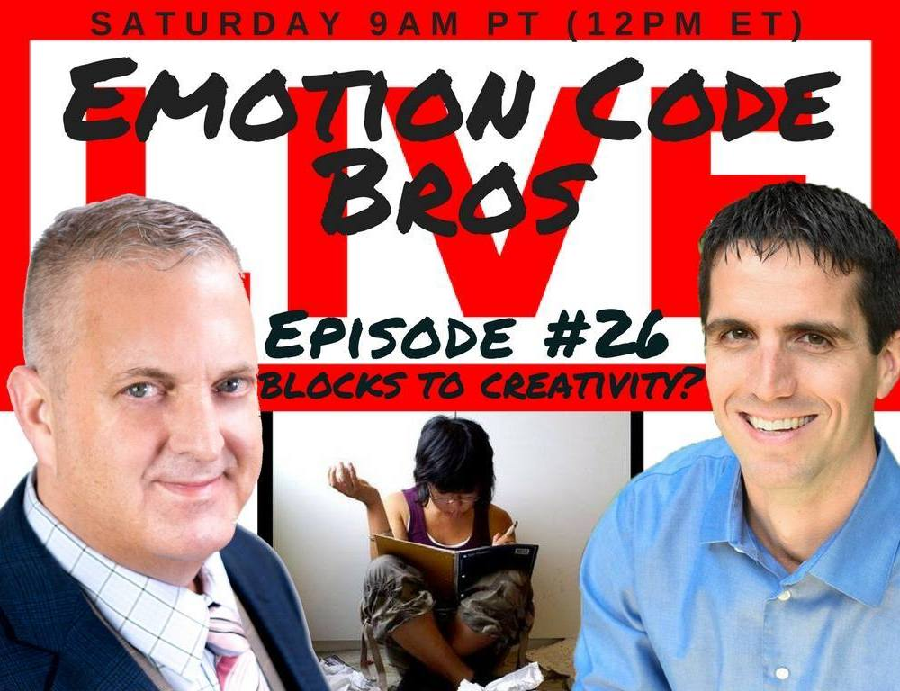 Episode #26 Writer's block or blocks to creativity? The Emotion Code WILL Help!