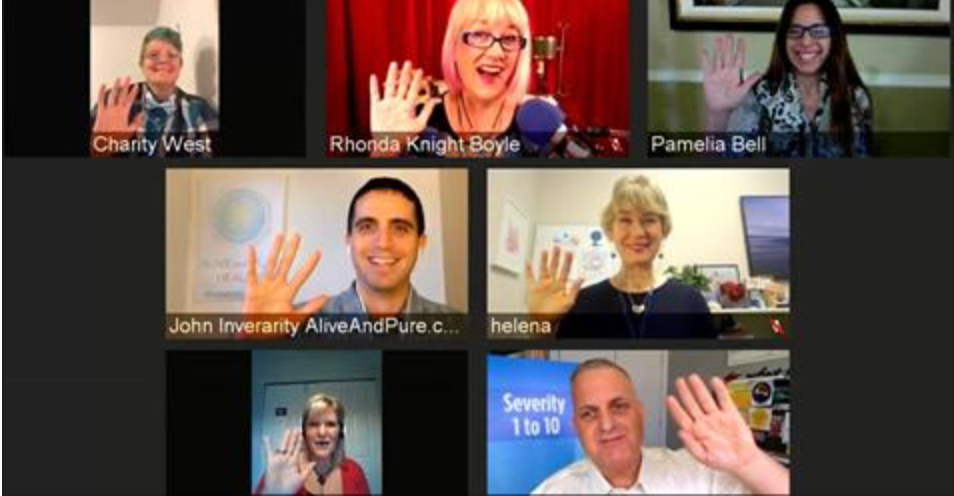 Episode #25 Hollywood Squares PANEL of Clients Sharing Their Emotion Code Success Stories