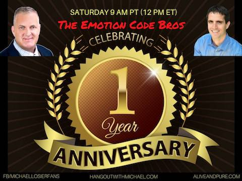 Episode #52 The Show's 1st Year Anniversary Viewers Share Their Emotion Code Success Stories with John Inverarity and Michael Losier