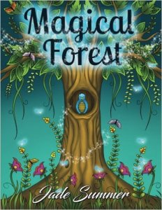 Magical Forest Coloring Book