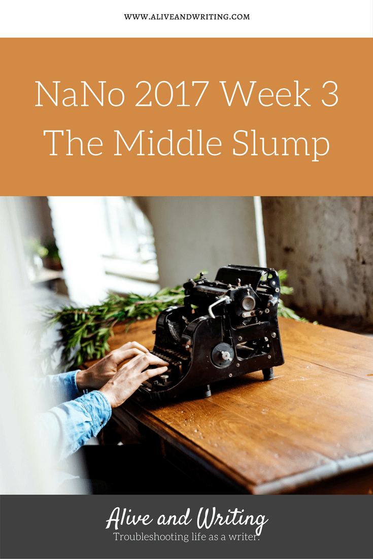 Alive and Writing Week 3 The Middle Slump