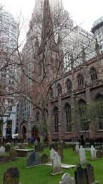 Trinity Church, the birthplace of Columbia University