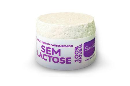 Queijo Fresco Santiago Sem Lactose 450