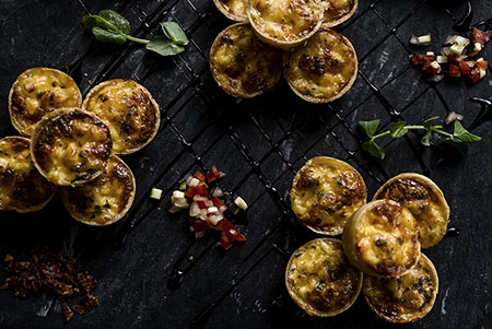 Crowne Plaza Porto_Mini quiches 450