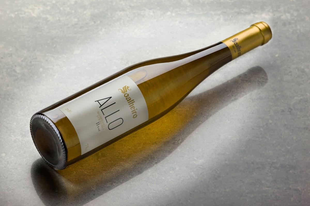 O Soalheiro Allo 2016 foi eleito o melhor vinho para acompanhar Sushi