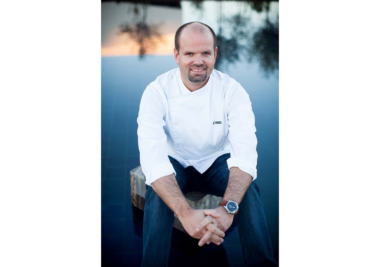 Chef Miguel Laffan no World Gourmet Festival em Bangkok