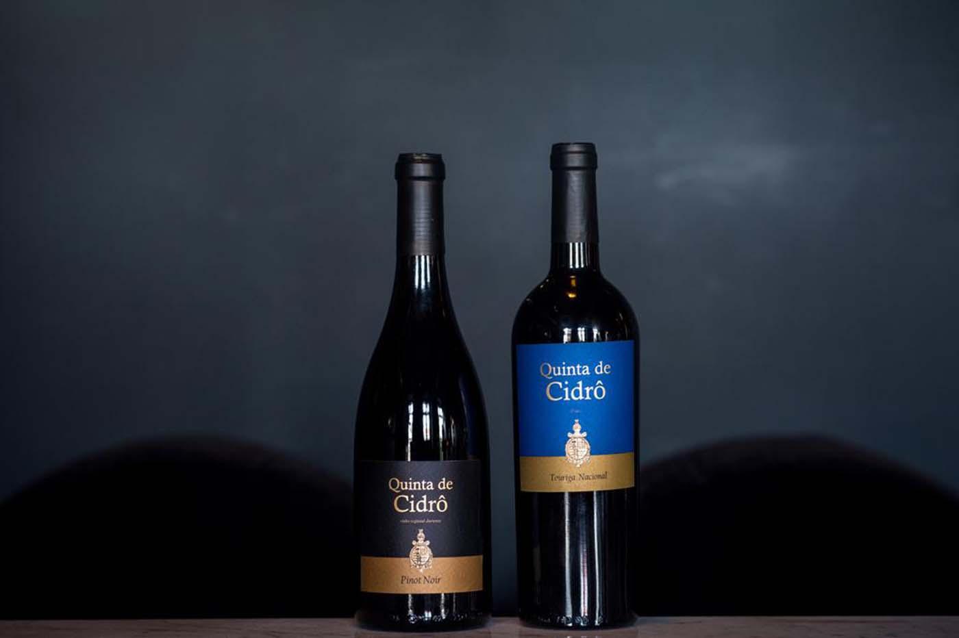 Quinta de Cidrô com novas colheitas de Pinot Noir e Touriga Nacional