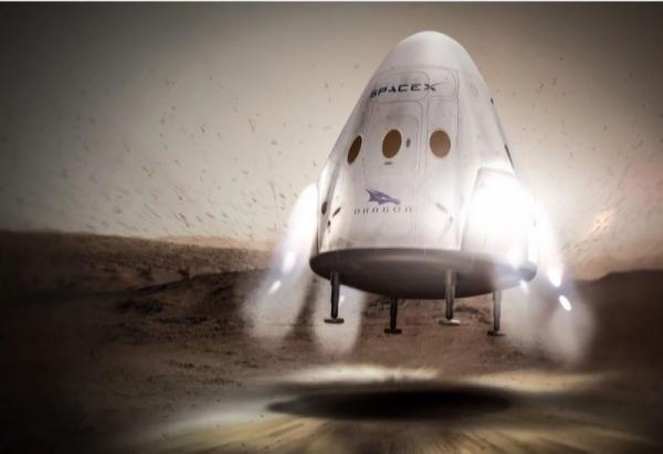 Elon Musk viaggi su Marte