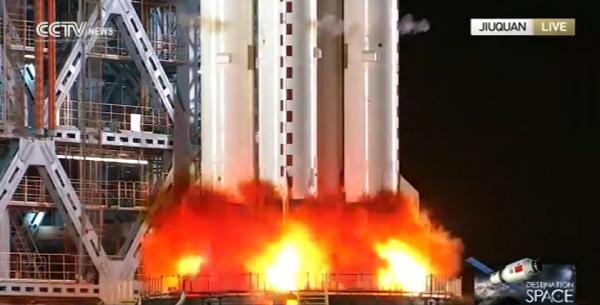 La stazione spaziale cinese Tiangong-2 è in orbita