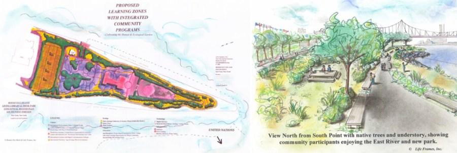 masterplan and rendering