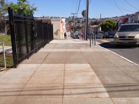 Seneca Avenue Streetscape