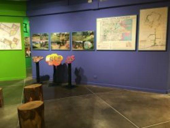 Blue Wall, Bonnie Ora's installation at PAV