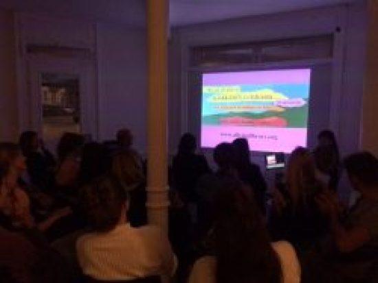 Bonnie Ora's Public Talk at Kulturfolger, Zurich