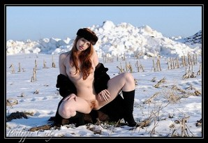 "Alixia Busch - ""Alixia"" - Fur Coat - Make-up self"