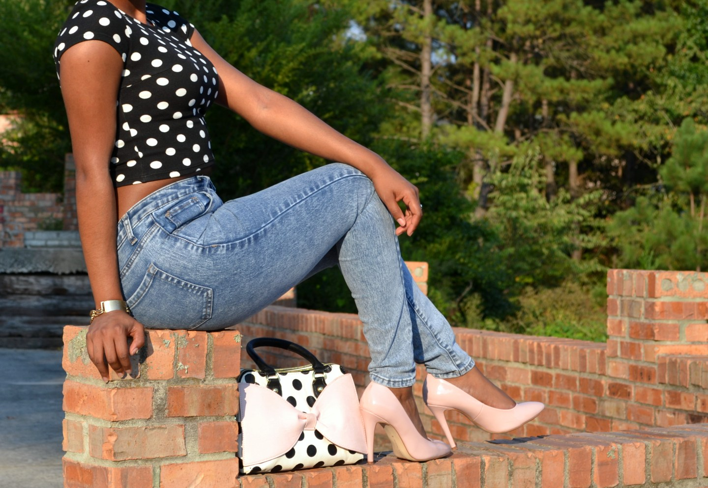 The Polka Dotted Line: Be You, Period.