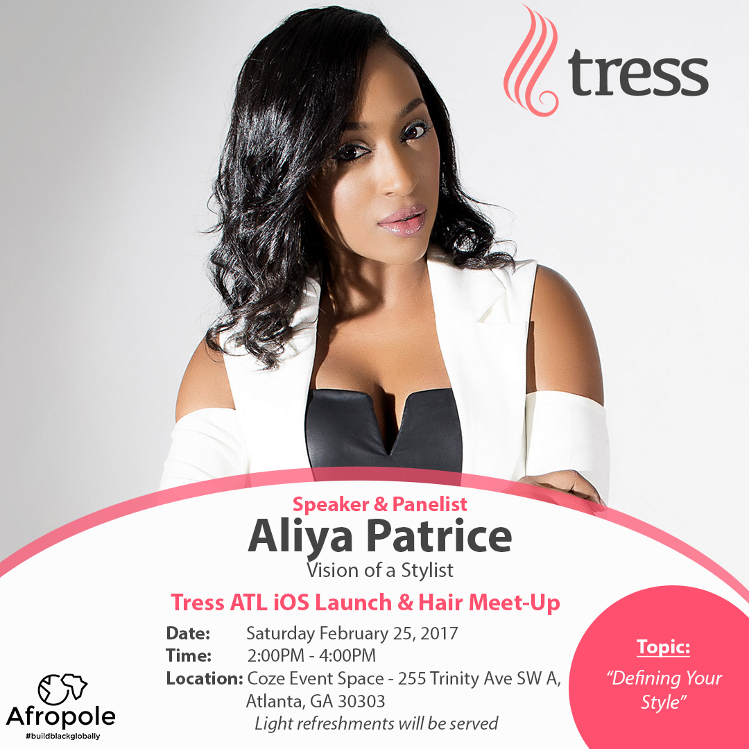 EVENT ALERT! Tress Hair App Launch for iOS