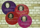 Stories of Underground staff in foot tunnel of South Kensington tube station.