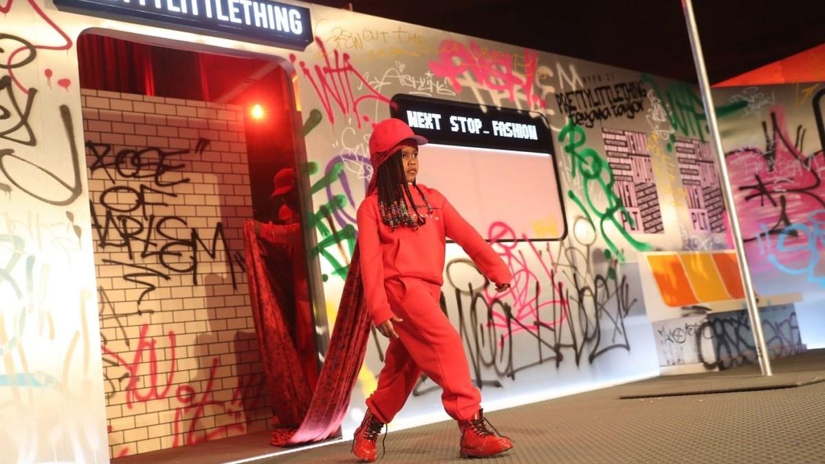 Teyana Taylor's Daughter Junie Struts Down The Runway For New York Fashion Week
