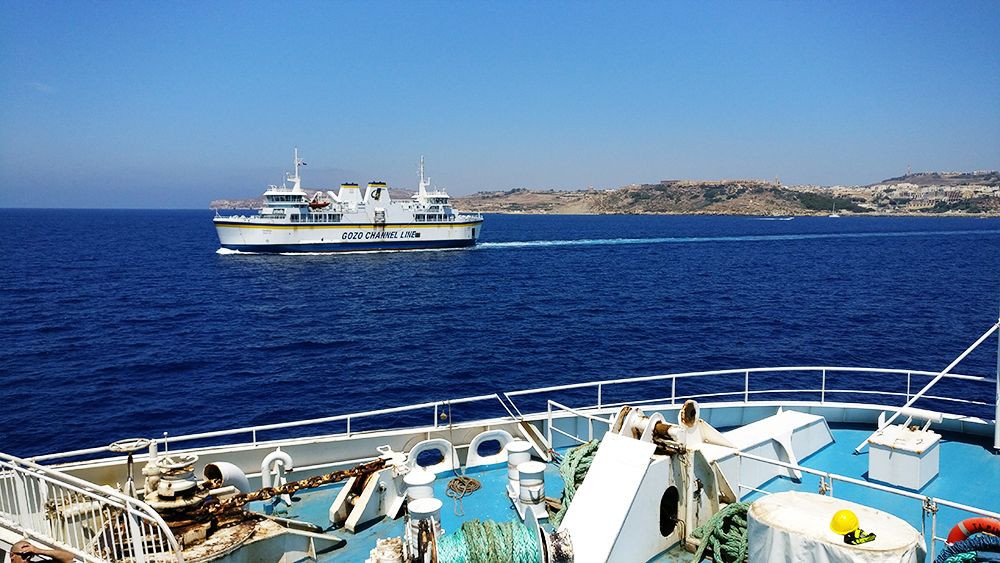 About Malta - Traffic - Ferry between Malta and Gozo