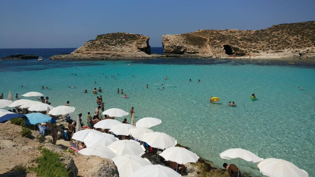 Day 4 - Blue Lagoon in Comino, Popeye village and Golden bay in Malta