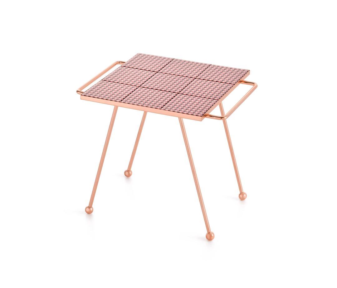 Mix & Match Table by GAN | Millennial pink ideas for your perfect home
