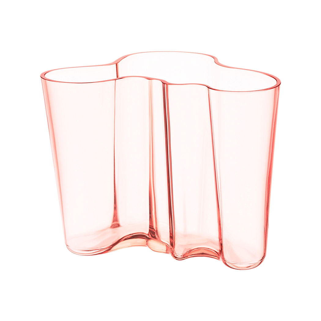 Alvar Aalto Collection Vase by Iittala | Millennial pink ideas for your perfect home