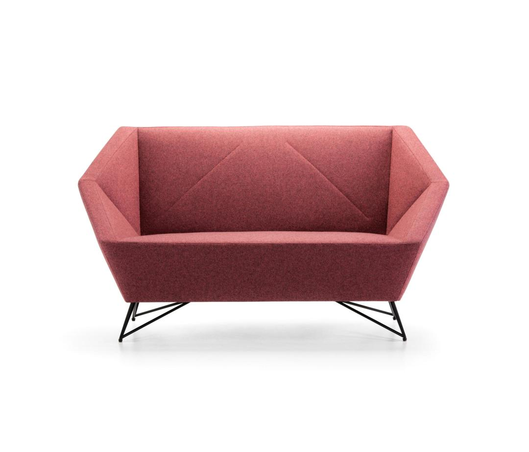 3angle sofa by Prostoria | Millennial pink ideas for your perfect home
