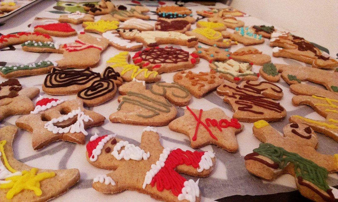 The perfect Christmas gift - Gingerbread with names | Aliz's Wonderland