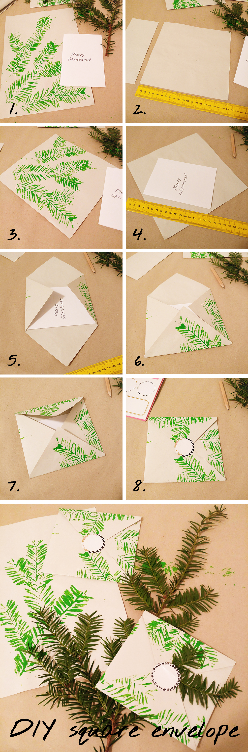 DIY Origami square envelope | Aliz's Wonderland