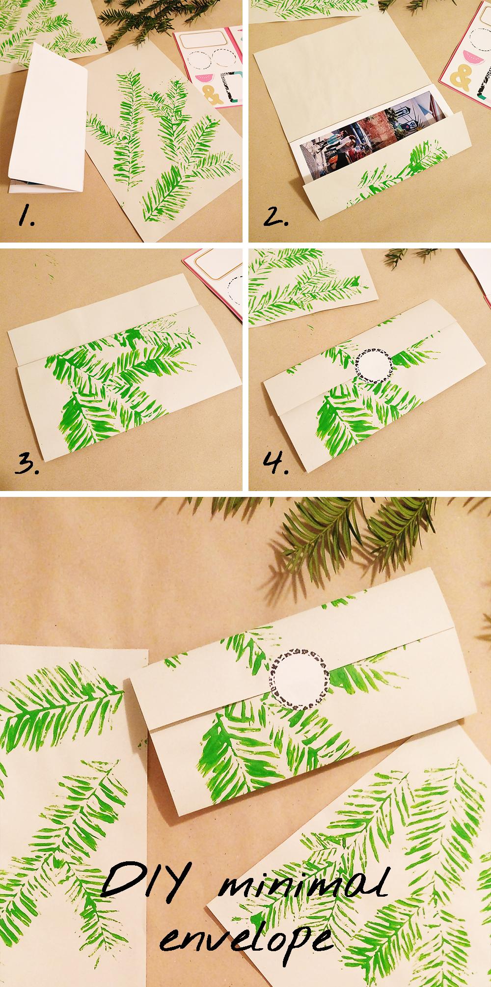 DIY Origami minimal envelope | Aliz's Wonderland