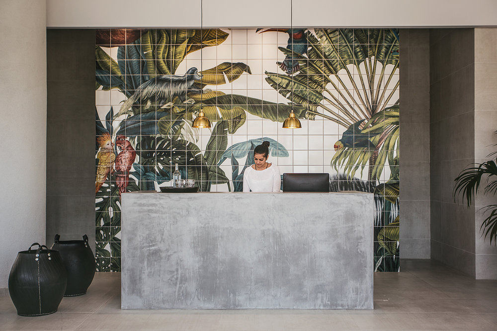 Karina Eibatova - Casa Cook restaurant - Tropical wall tiles - Transform your home into a tropical paradise | Aliz's Wonderland