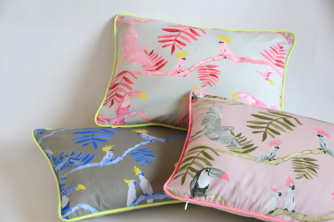Kariokas' Pantanal decorative pillowcase - Tropical bedroom- Transform your home into a tropical paradise | Aliz's Wonderland