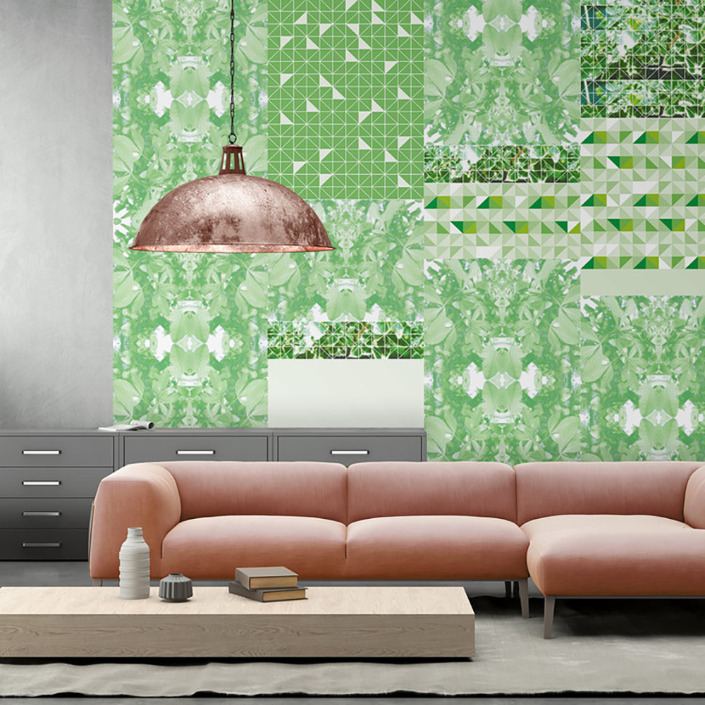 Kirath Ghundoo Verde from the Mismatch 18- Tropical wallpaper - Transform your home into a tropical paradise | Aliz's Wonderland