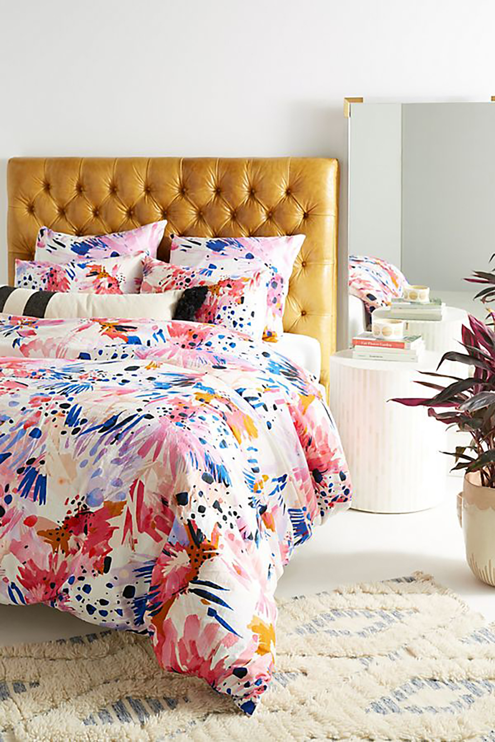 Lillian Farag floral duvet cover - How to give life to your interior with floral pattern? | Aliz's Wonderland