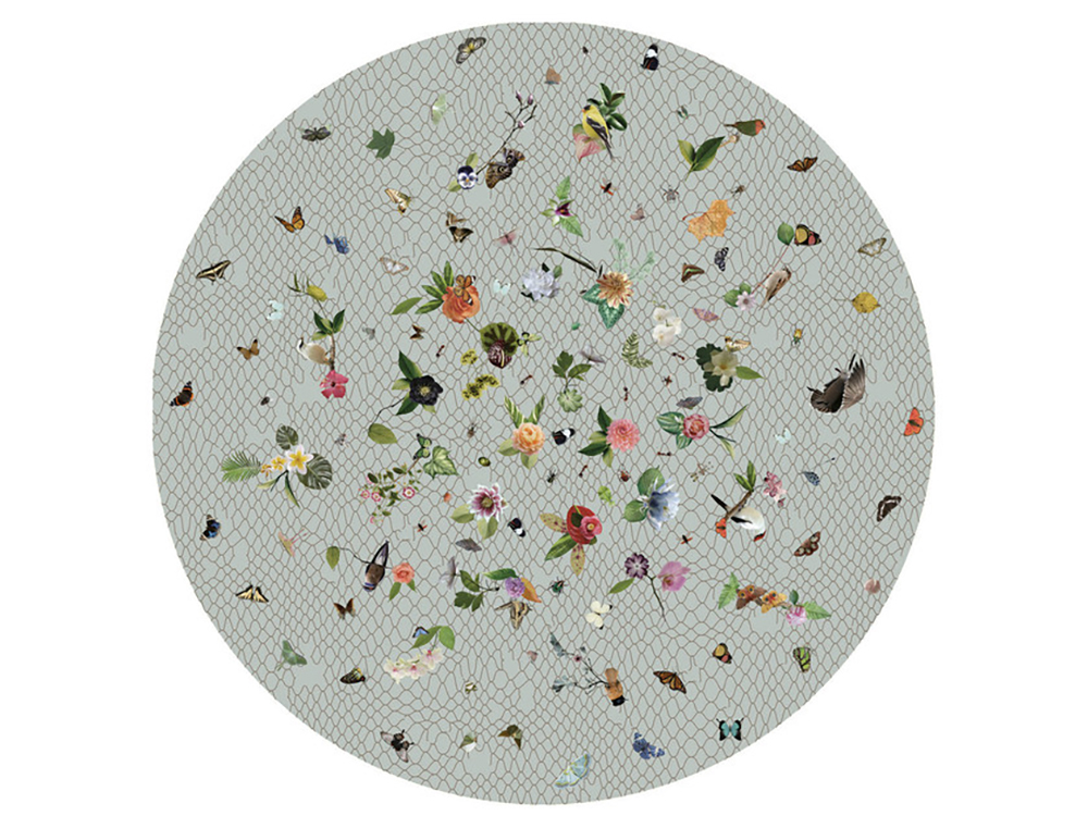 Edward van Vliet's Garden of Eden Light Grey for Moooi - How to give life to your interior with floral pattern? | Aliz's Wonderland