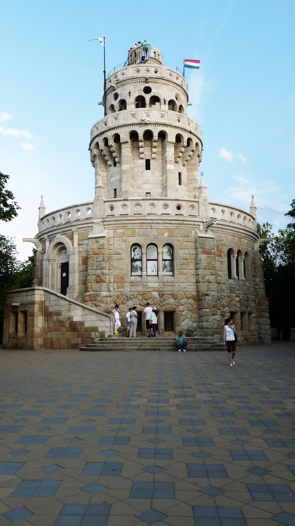 Elisabeth Lookout Tower, János Hill - Top 5 viewpoints in Budapest Hungary, recommended by a local | Aliz's Wonderland