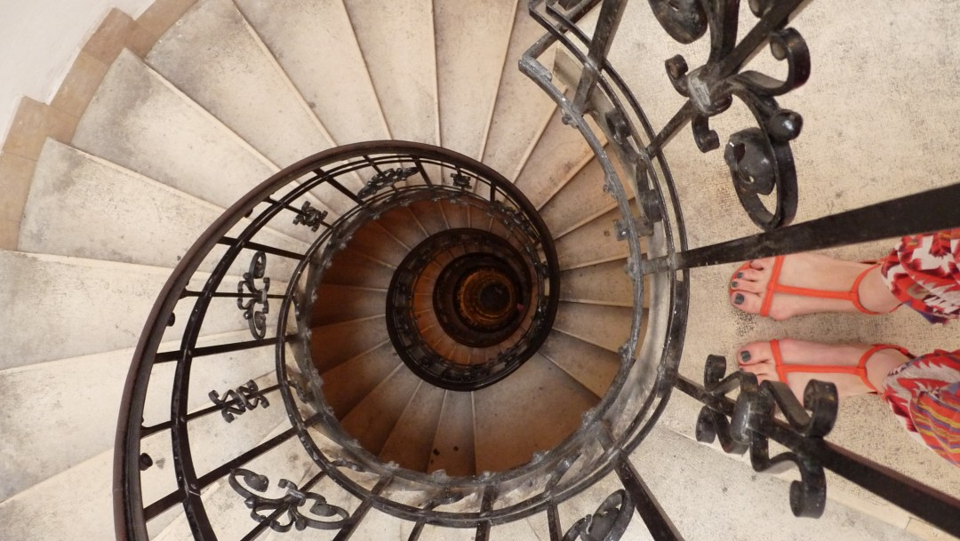 St. Stephen's Basilica staircase - Top 5 viewpoints in Budapest Hungary, recommended by a local | Aliz's Wonderland