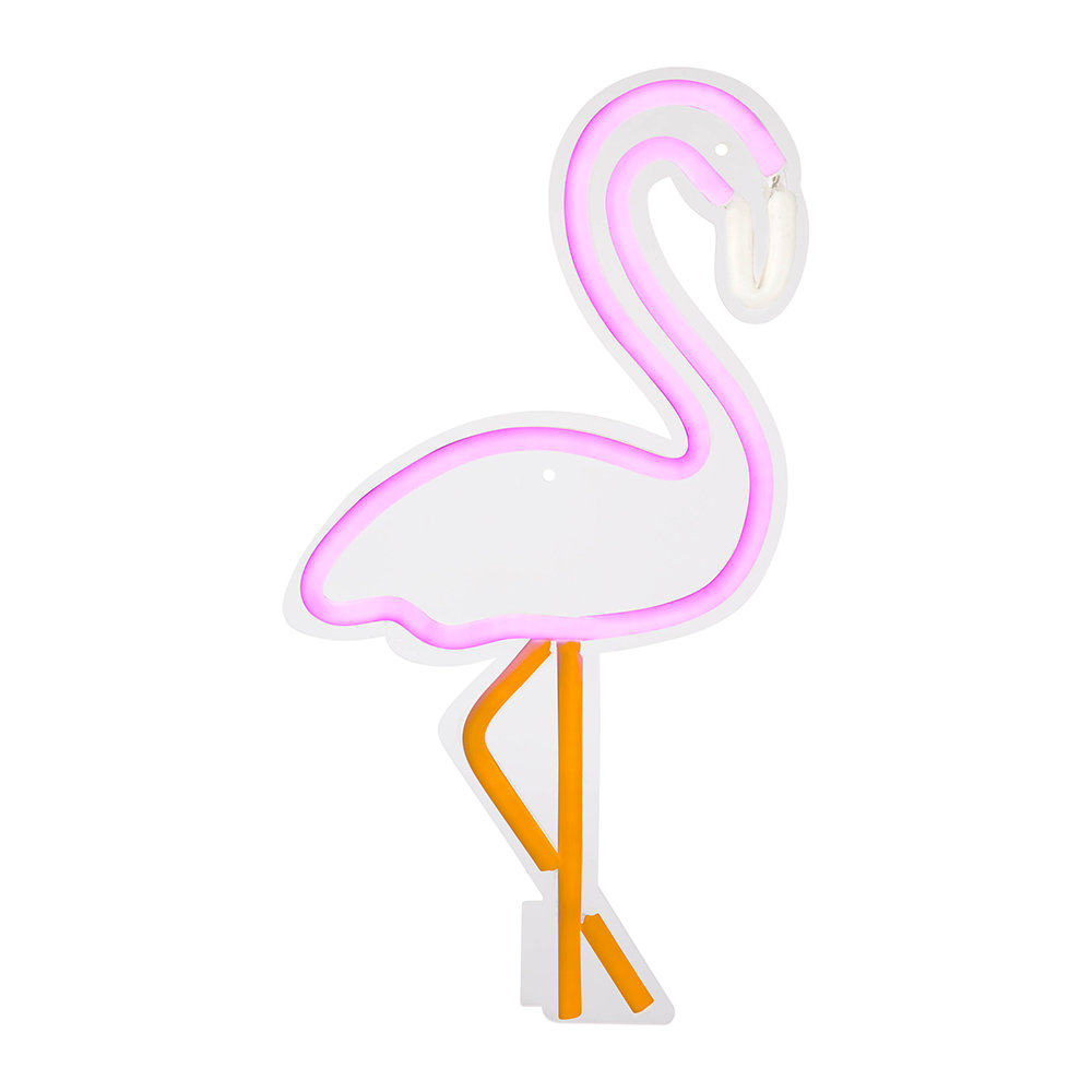 Sunnylife neon LED light - Decorate your home with flamingos | Aliz's Wonderland