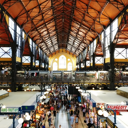 Central Great Market Hall - 40 reasons to fall in love with Budapest | Aliz's Wonderland