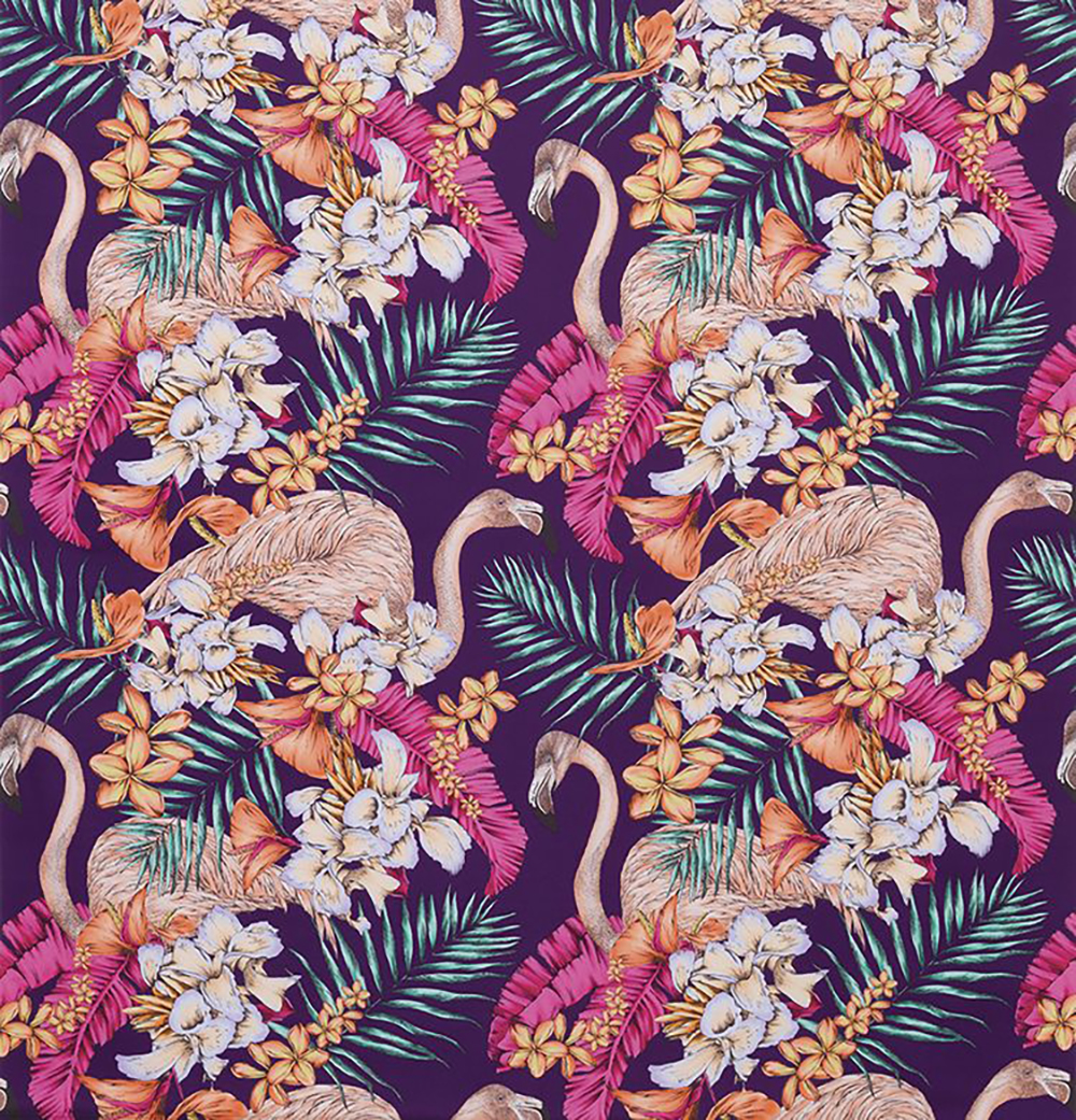 Exotic tropical wallpaper collection, Flamingo club by Osborne & Little - Decorate your home with flamingos | Aliz's Wonderland