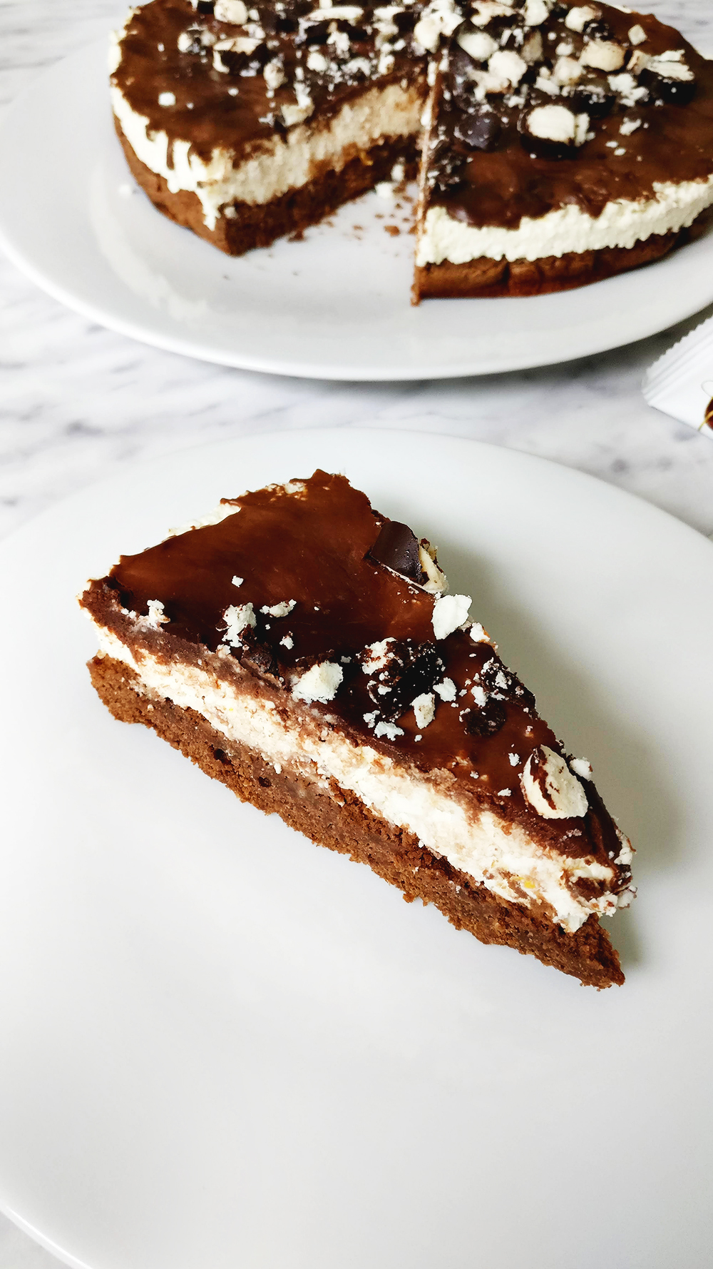 Hungarian cottage cheese chocolate (Túró Rudi) cake | Aliz's Wonderland #recipe #hungarianrecipe #cottagecheese #chocolatecake #cottagecheesecake