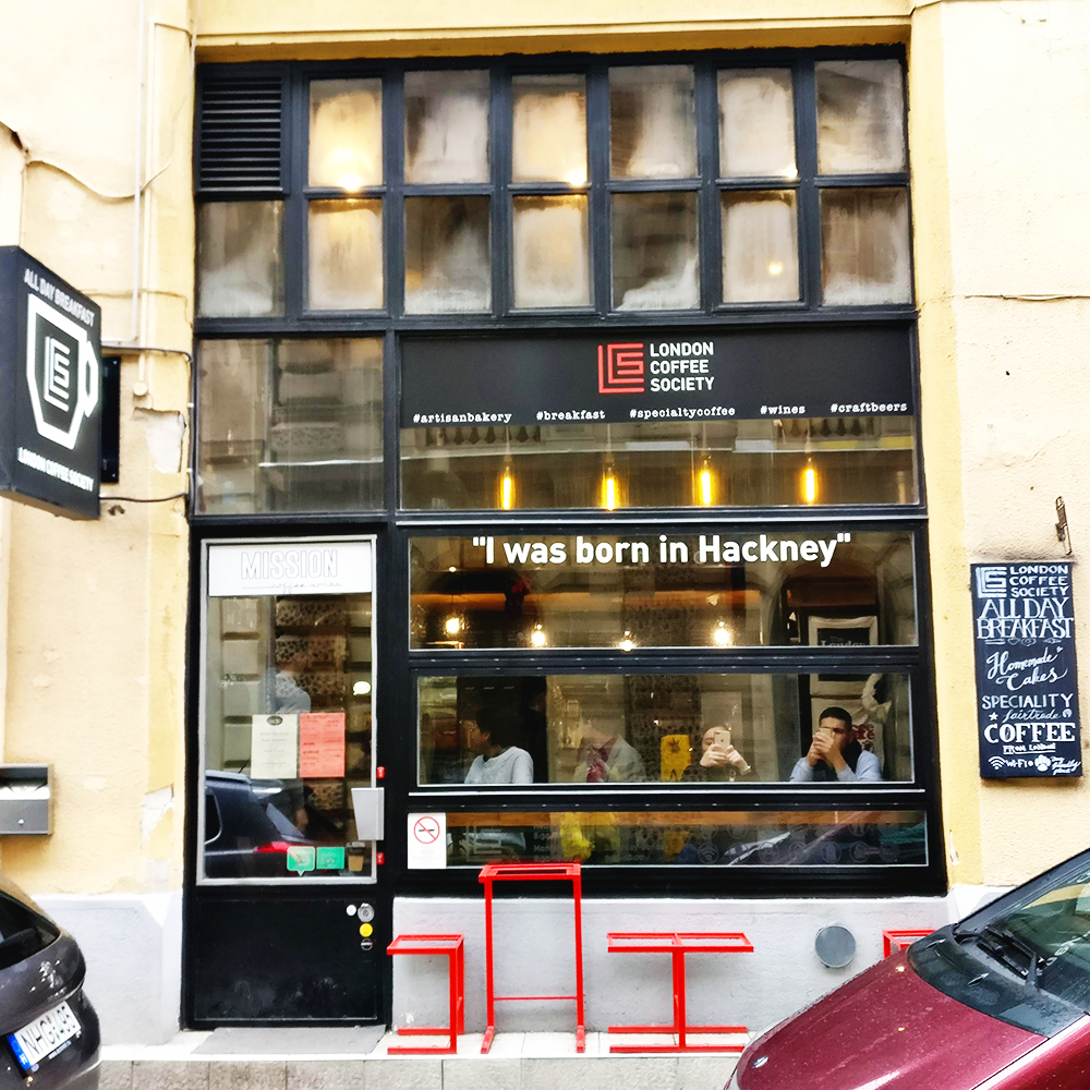 Smashed avocado sandwich with salmon in London Coffee Society - Avocado toast lover's guide to Budapest, Hungary | Aliz's Wonderland #Budapest #Hungary #travel #avocadotoast #foodie #Budapestfoodguide
