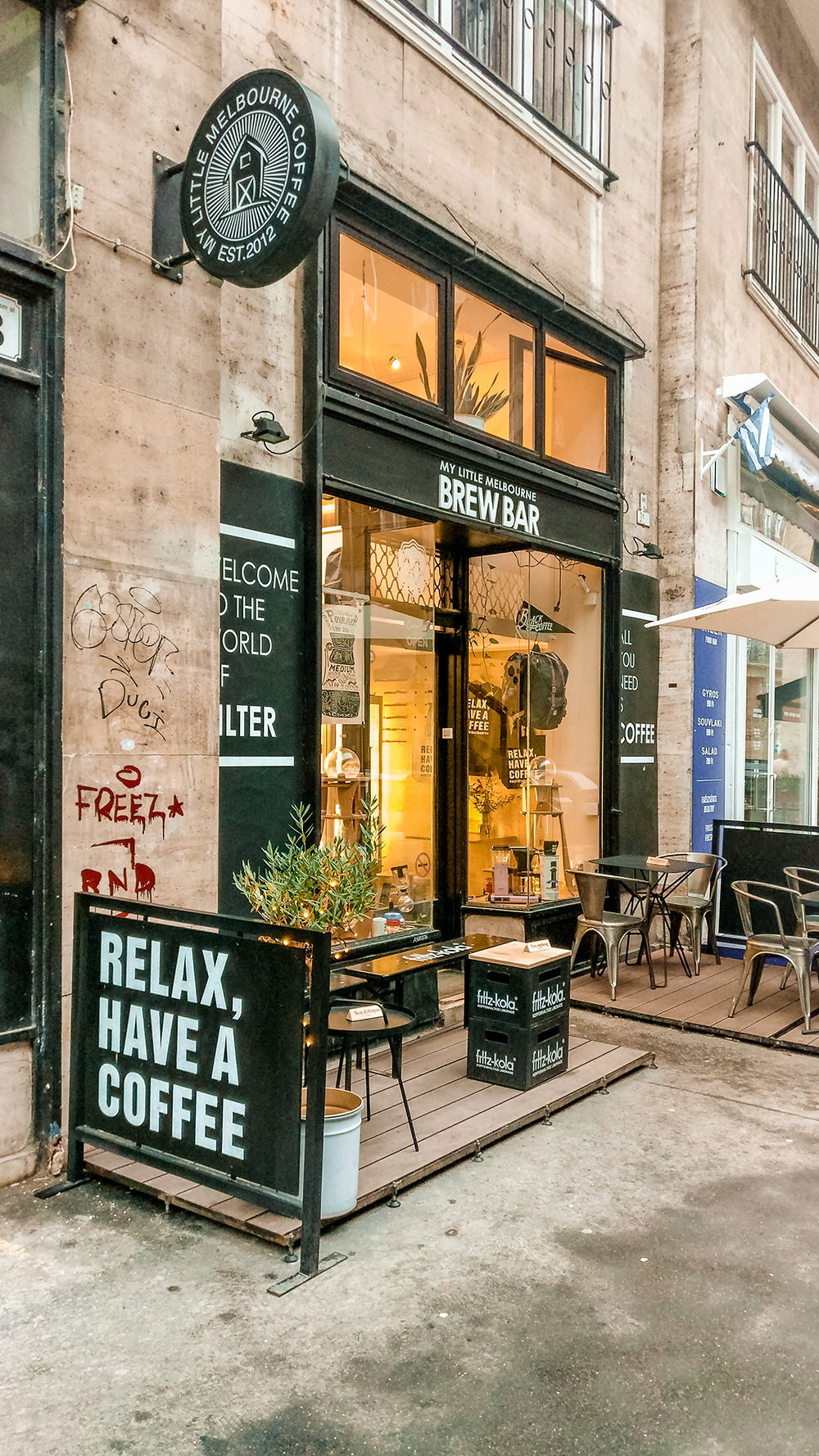 My Little Melbourne Coffee and Brew Bar - Where to drink the best specialty coffee in Budapest, Hungary? | Aliz's Wonderland