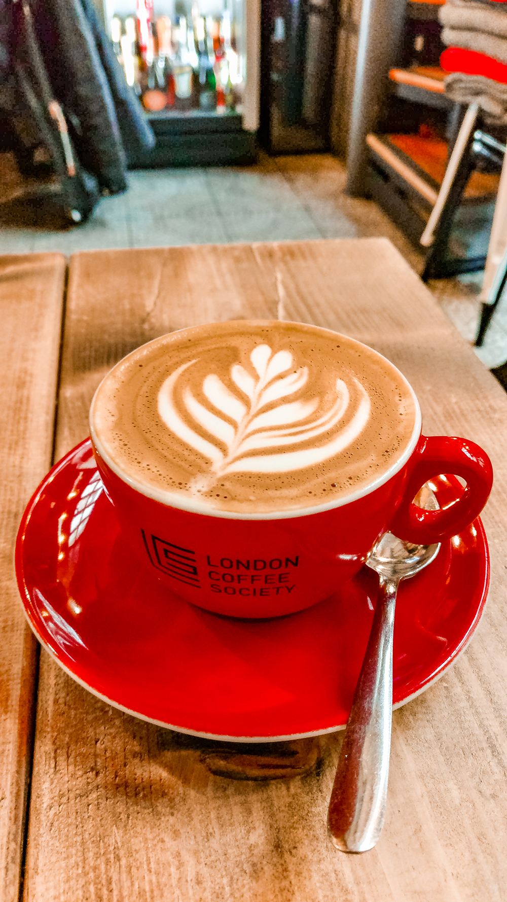 Flat white at London Coffee Society - Where to drink the best specialty coffee in Budapest, Hungary? | Aliz's Wonderland
