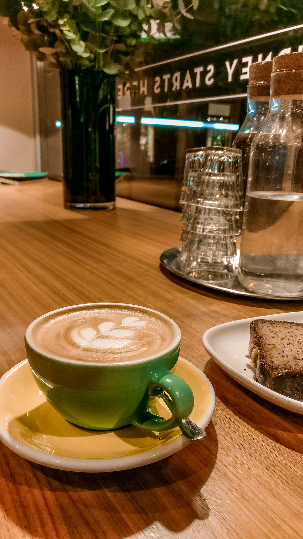 Cappuccino at My Green Cup - Where to drink the best specialty coffee in Budapest, Hungary? | Aliz's Wonderland
