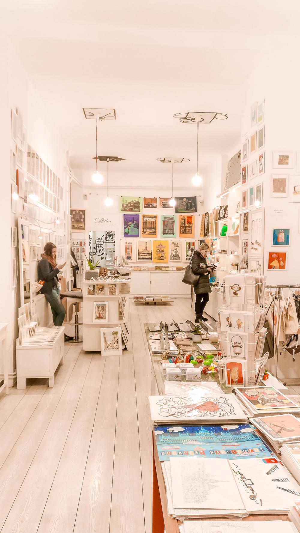 Rododendron Art & Design Shop - Budapest design shop guide to best Hungarian souvenirs | Aliz's Wonderland